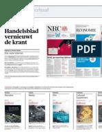 NRC Handelsblad vernieuwt de krant