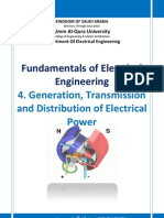 N FE 4. Generation Transmission and Distribution of Electrical Power