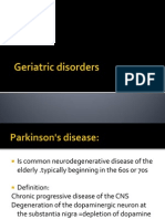 Geriatric Disorders