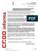 2013_05_30 Comunicado Modificacion Del Prv2013 Por Parte de La Empresa
