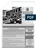 DEPEN 2013 Caderno de questões - Tipo I - Conhecimentos Básicos para o Cargo de Agente Penitenciário