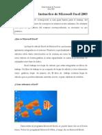 Instructivo de Microsoft Excel 2003 Aj 2013