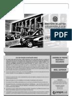 DEPEN 2013 Caderno de questões - Tipo I - Conhecimentos Básicos para o Cargo de Especialista Todas as Áreas