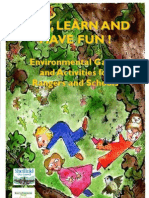 Environmental Games and Activities Booklet for Kids