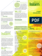 About Islam a brief introduction ( pamphlet )