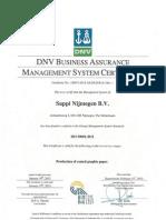 ISO-50001 Nijmegen Mill Valid Until 19-01-2015 English