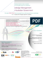 Knowledge Management for the Australian Government Brochure