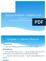 Haroun Analysis– Chapter 5-10