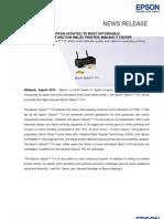 Final - Press Release - Epson Stylus T13