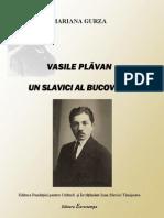 Mariana Gurza, Vasile Plavan, un Slavici al Bucovinei