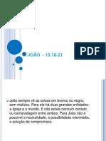 JOÃO  - 15