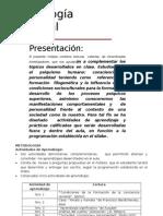 Modulo Psicologia General