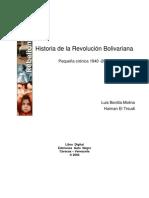 03. Historia de La Revolucion Bolivariana - Bonilla - El Tro - Revolucion Bolivariana - Libros