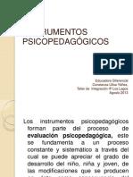 instrumentos psicpedagogicos