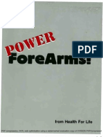 Health for Life - Power ForeArms!