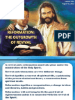 3rd Quarter 2013 Lesson 9 Reformation the Outgrowth of Revival