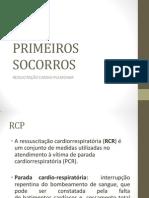 PRIMEIROS SOCORROS RCP