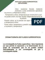 Cromatografia de Fluidos Supercr