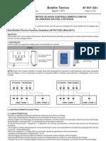 Bt Rvt 028 i Informativo Novo Controle Remoto Para Linha Splitao 02 Estagios