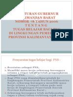 Peraturan TUGAS BELAJAR PNS.ppt