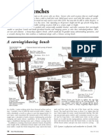 A Carving - Shaving Bench
