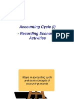 NUS ACC1002X Lecture 2 Accounting Cycle (I) - Recording