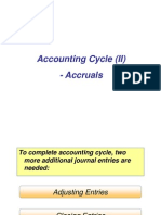 NUS ACC1002X Lecture 3 Accounting Cycle (II) - Accruals