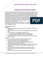 NV Access Program Intern Position