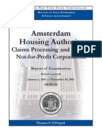 Amsterdam Housing Authority Audit