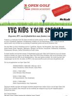 VVG Kids Tour Special (Groot succes voor Ieper Open Golf)