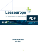 Leaseurope Index Q2 2013