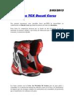 Botas Moto Tcx Ducati Corse