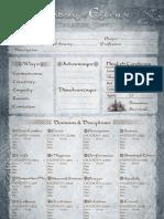 Esteren Character Sheet