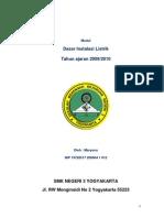 Buku SMK Modul Teknik Listrik Dasar Instalasi Listrik 2009 2010