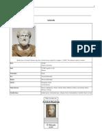 Aristotle Wickipedia