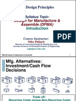 Design for Manufacture and Assembly _DFMA_ - Mechanical Science ...