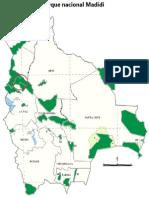 Areas Protegidas Parque Nacional Madidi