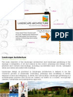 Landsscape Architecture