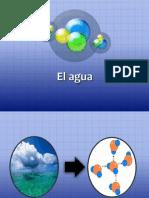 El Agua.ppt Bioquimica