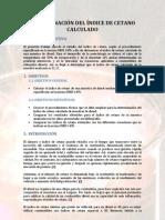 DETERMINACIÓN DEL ÍNDICE DE CETANO CALCULADO