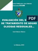 EVALUACIÓN DEL SSITEMA DE TRATAMIENTO DE AGUAS OLEOSAS RESIDUALES