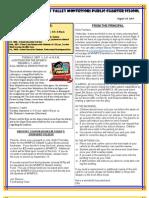 Newsletter 130829