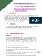 Lab 3. Determinacion de La Capacidad Fermentativa de Una Levadura