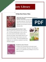 10 new non fiction titles