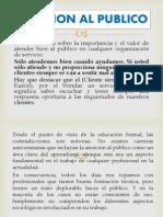 Atencion Al Publico Lorena l.