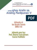 Banghay Aralin Sa Araling Panlipunan VI