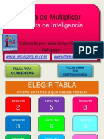 Tabla de Multiplicar Bits Inteligencia