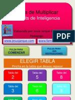 Tabla de Multiplicar Bits Inteligencia