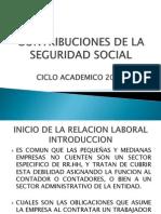 Legislacion Tecnica y Tributaria II - Inicio de La Relacion Laboral