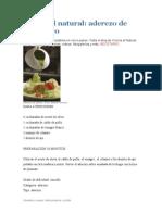 Cocina Al Natural RECETARIO